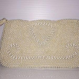 Handbags - Bead covered clutch.